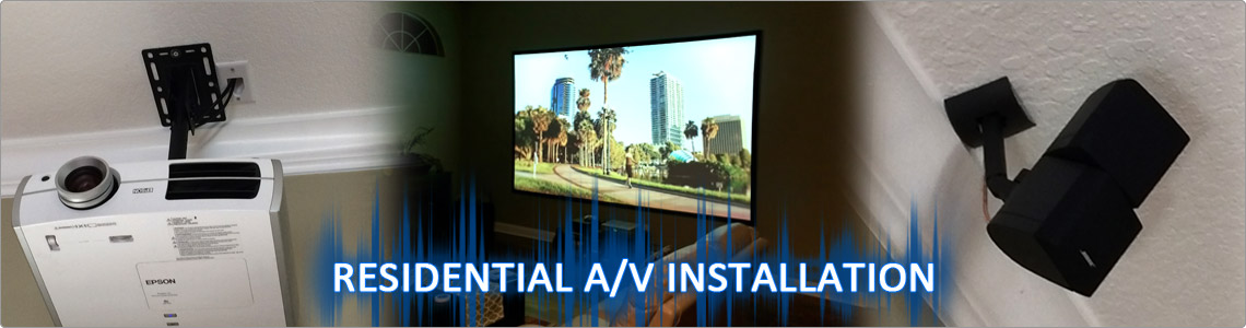 Orlando Residential Audio Video Installation